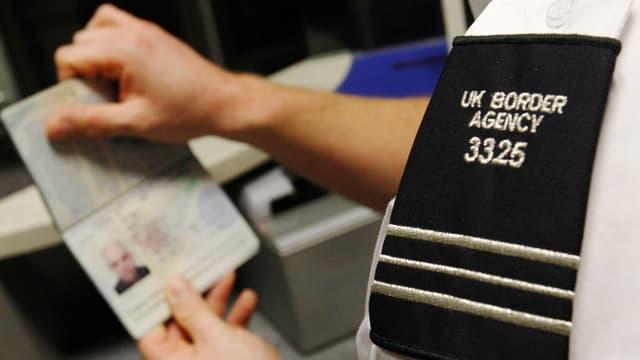 UK-Passkontrolle