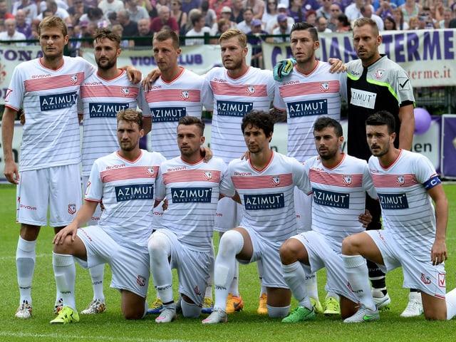 Teamfoto des FC Carpi