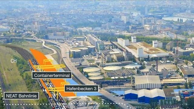 Visualisierung von Gateway Basel Nord