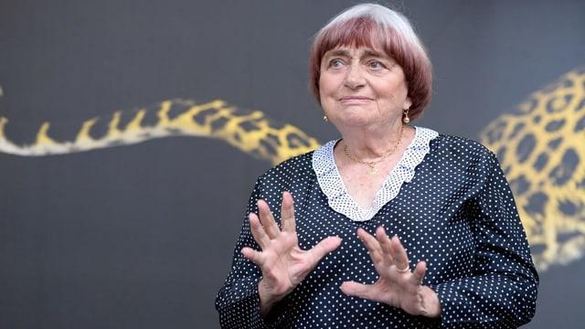 Das Kino hatte für sie eine enorme Wichtigkeit: Agnès Varda, die «Grossmutter der Nouvelle Vague».