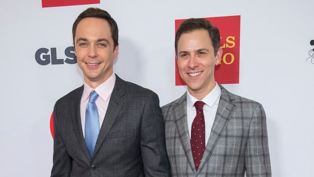 «The Big Bang Theory»-Star Jim Parsons und Todd Spiewak.