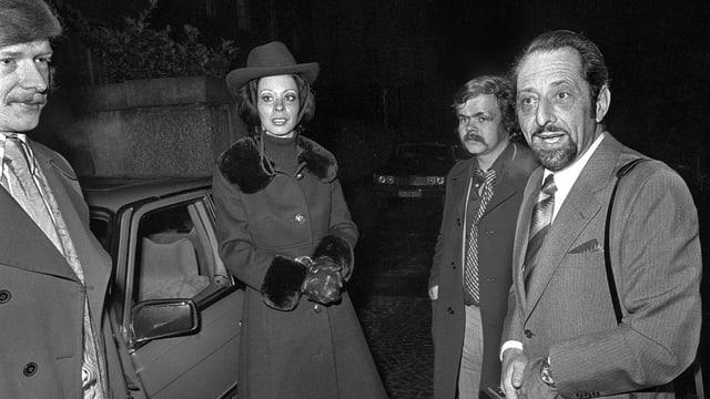 Hans Ulrich Lenzlinger mit 2 Männern und einer Frau