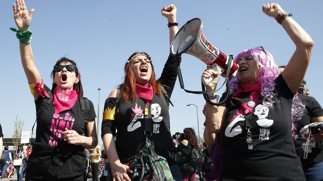 Feministenproteste in Verona
