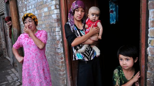 Uigurische Familie