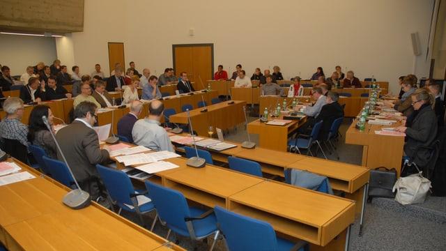 Parlament und Stadtrat in Olten