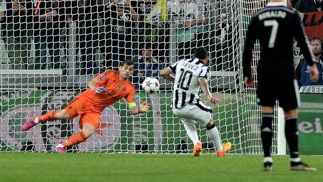 Penalty Tevez