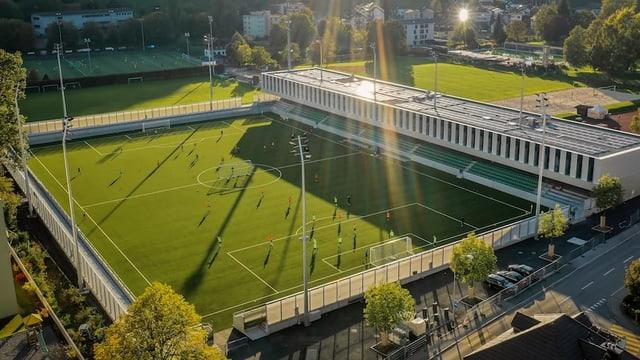 Visualisierung Sportzentrum Kleinfeld