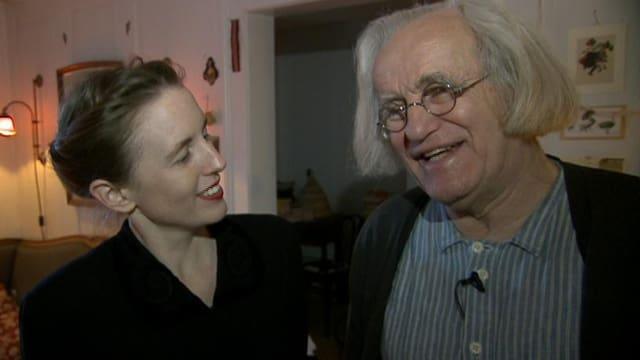 Federico Pfaffen und Nicole Gabathuler