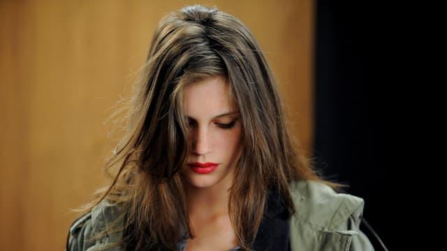 Bild einer jungen Frau.