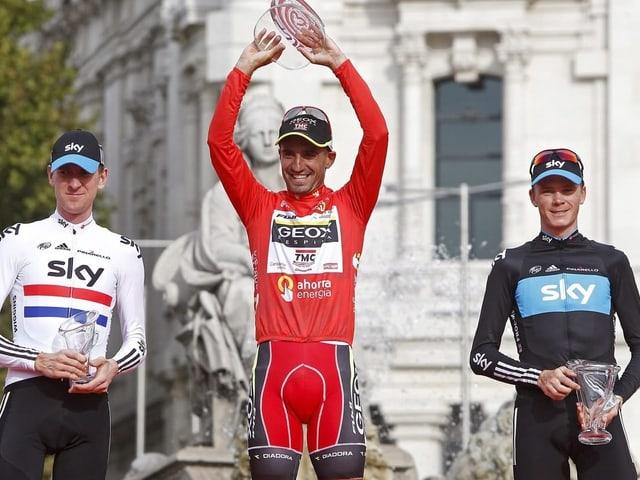 Cobo beim Vuelta-Sieg 2011
