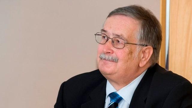 Portrait des ehemaligen Baselbieter Finanzdirektors.