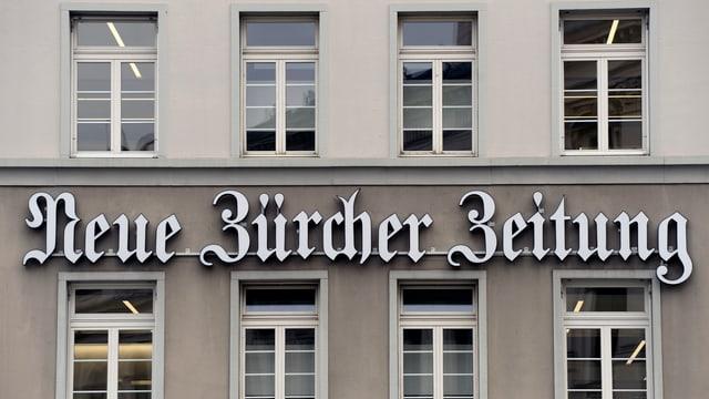 Gebäude der NZZ in Zürich