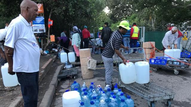 Stadt ohne Wasser - Warnung aus Südafrika