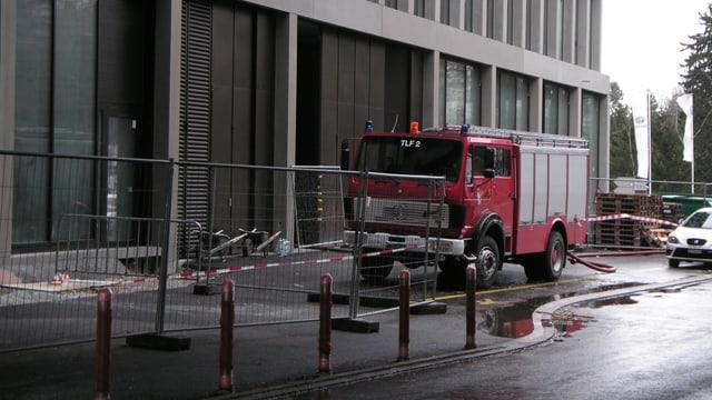 Die Brandermittler müssen die genaue Brandursache noch abklären.