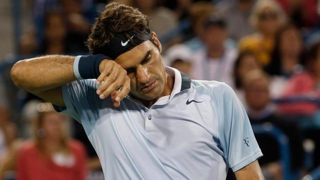 Innert 3 Monaten verlor Federer in der Weltrangliste 5 Plätze.