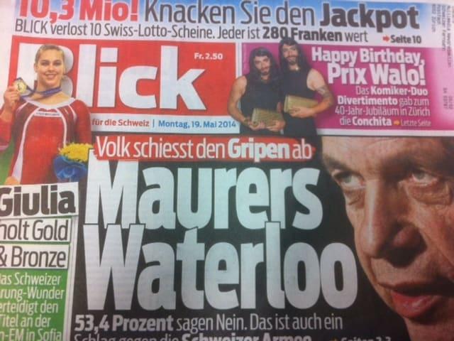 Titelblatt vom Blick