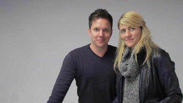 Sven Epiney und Sandra Schiess