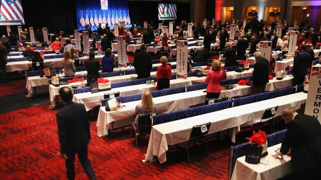 Delegiertenversammlung in Charlotte