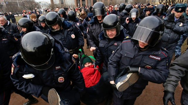 Proteste in Russland