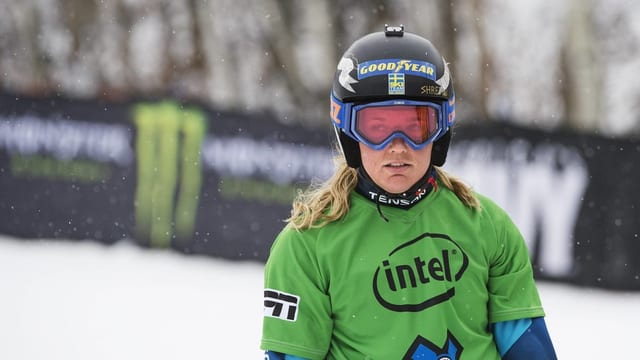 Als gieus olimpics da Sotschi è Anna Holmlund vegnida terza.