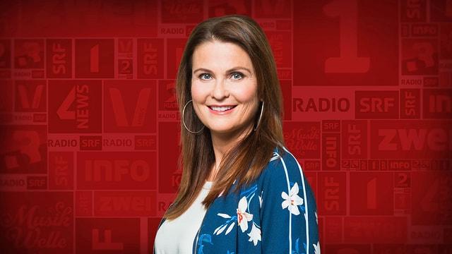 Steht in der Videokonferenz Rede und Antwort und ist dann im Podcast «Hallo SRF!» zu hören: Judith Wernli, Moderatorin Radio SRF 3.