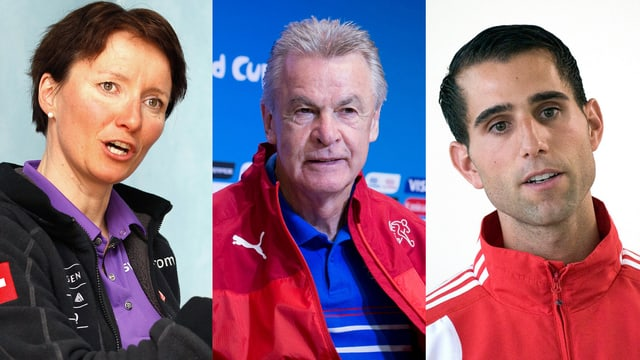 Guri Hetland, Ottmar Hitzfeld und Flavio Zberg sind als Trainer des Jahres nominiert.