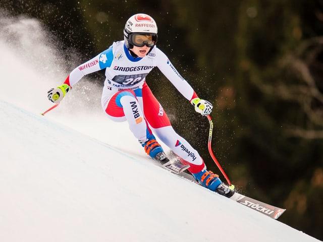 Im Verletzungspech: Vize-Junioren-Weltmeisterin Noémi Kolly.
