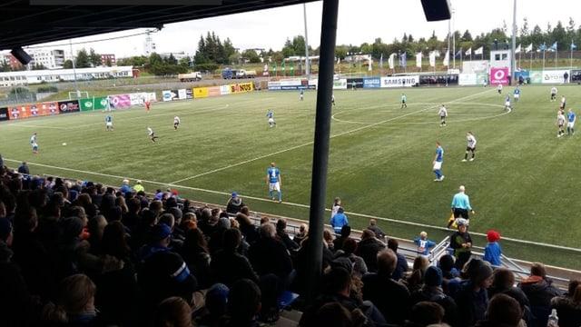 Die Spielstätte von UMF Stjarnan.