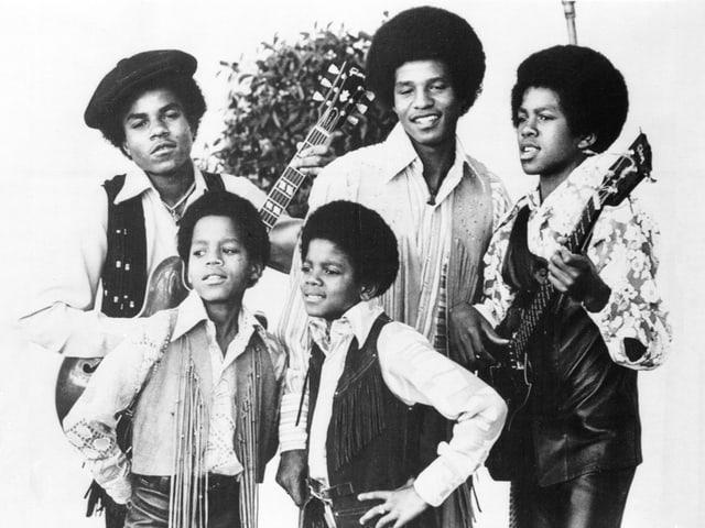 Purtret da la gruppa Jackson Five