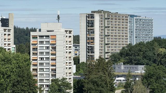 Wohnhäuser.