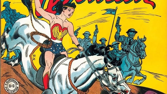 Erste Comic-Ausgabe Wonder Woman