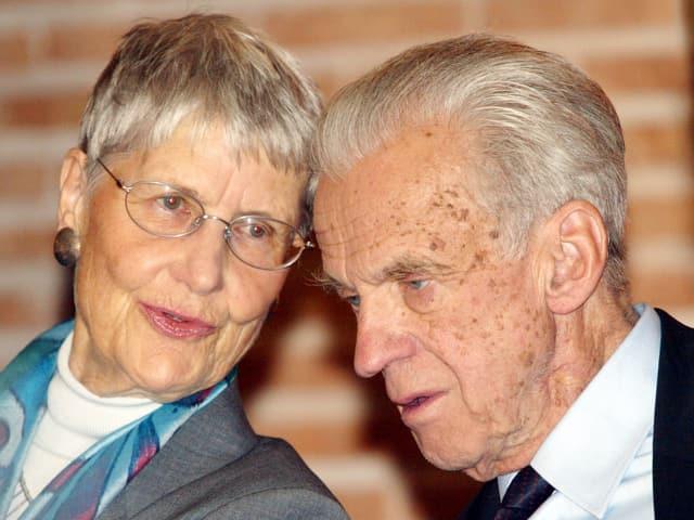 Walter und Inge Jens.