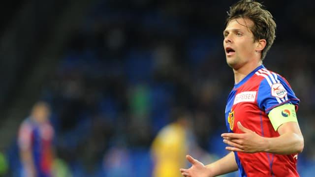 Valentin Stocker bejubelt einen Treffer.