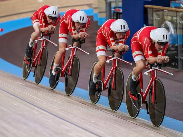 Die Dänen fuhren in Berlin zum 3. Mal Weltrekord.