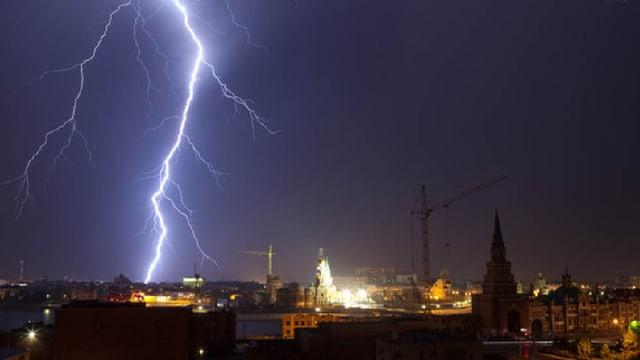 Blitzschutz für Gebäude und Geräte