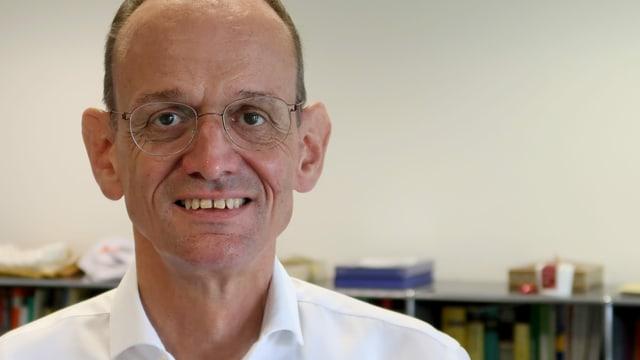 Hans Hirschi, Rektor der Kantonsschule Alpenquai in Luzern