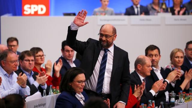 Il president da la SPD Martin Schulz