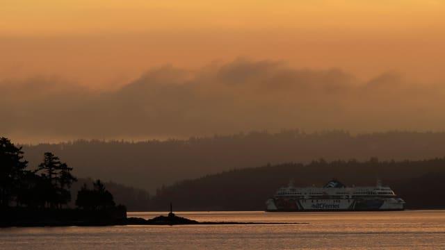 Vancouver Island, mar ed ina bartga.