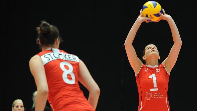 Die Schweizerinnen liessen Nordirland im ganzen Spiel nur 18 Punkte zu.