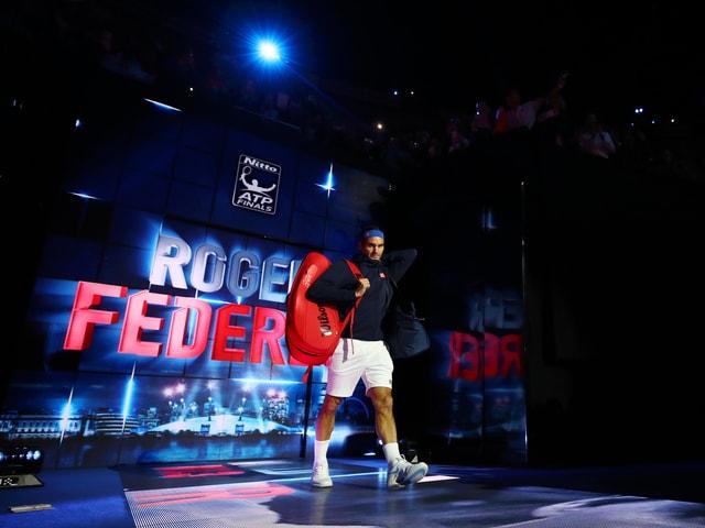 Einmarsch Federer