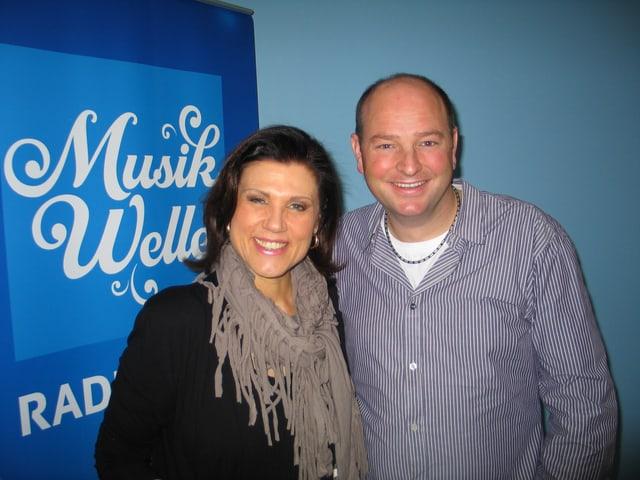 Maja Brunner und Heinz Wegmüller von Combox