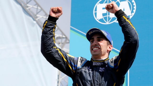 1. Sieg für Sébastien Buemi in der Formel E.