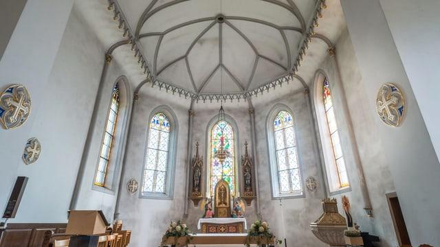 Innenraum einer Kirche.