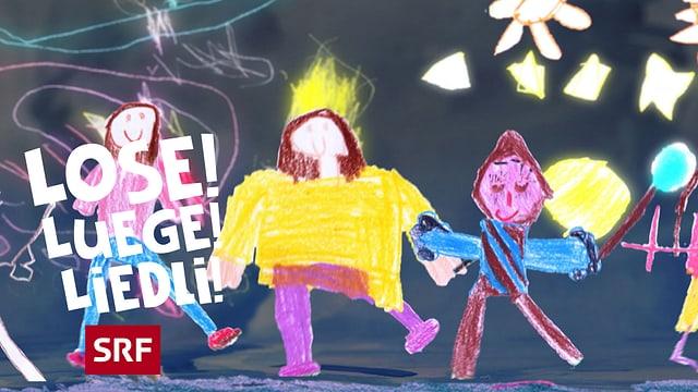 Video ««Lose! Luege! Liedli!»: Ich gahn mit miner Laterne» abspielen