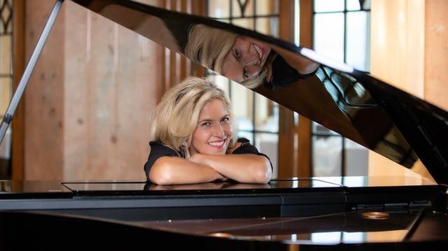Marie Louise Werth e ses piano