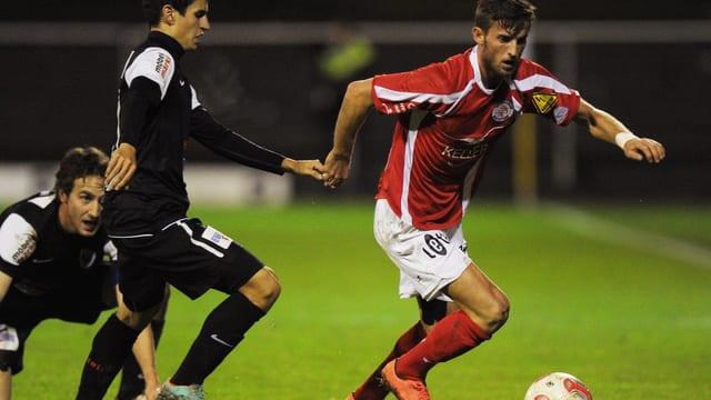 Ermir Lenjani bei einem Einsatz für den FC Winterthur.