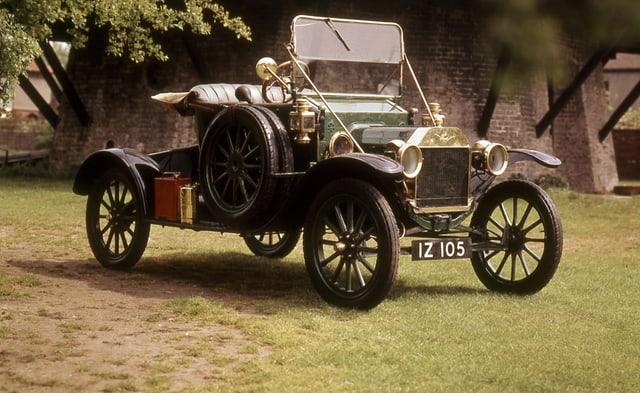 Ein altes Ford-Auto: das Modell T.