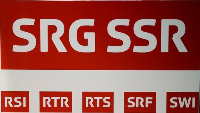 Logo da la SRG SSR ed ils subsidiaris.