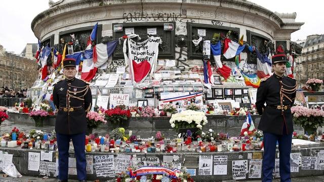 Trauer um die Opfer von «Charlie Hebdo»
