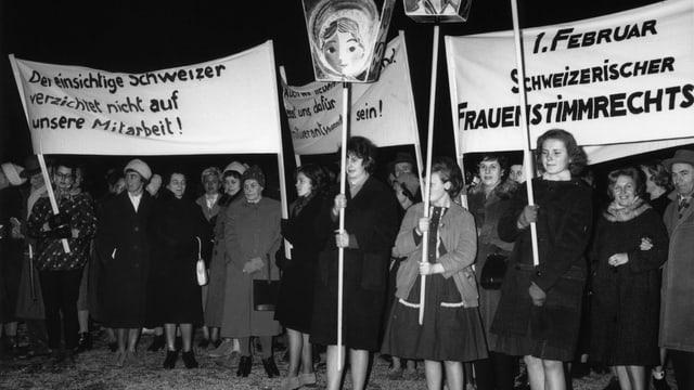 Für das Frauenstimmrecht brauchte es aber nochmals über 50 Jahre lang Proteste.